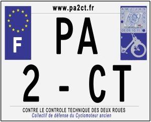 Collectif de Défense du Cyclomoteur Ancien – PA2CT